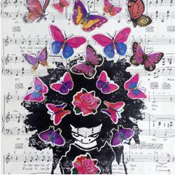 Butterflies & Afros