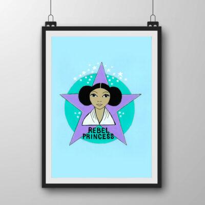 448d487b JSC04 – Rebel Princess Art Print